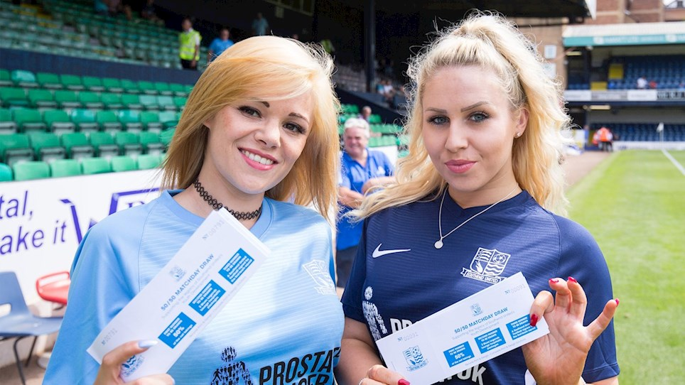 50/50 & Blues Lottery Results - Southend United