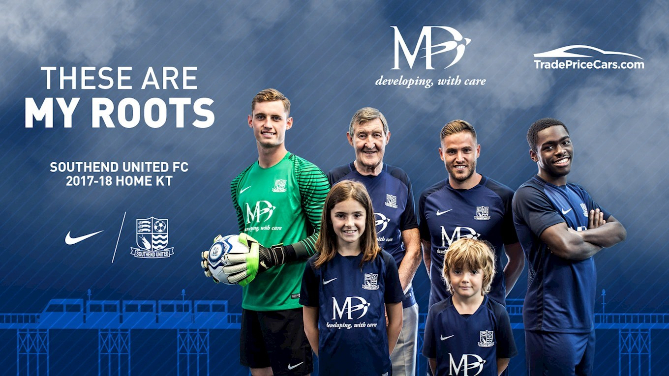 194903855 Southend United s 17 18 kit revealed - News - Southend United